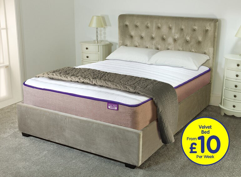 Capital Fabric bed