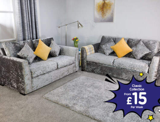 Marbella 2 & 3 Sofa Set