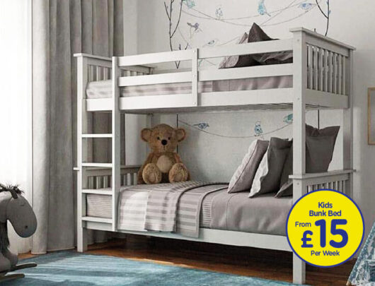 Brunel White Bunk Bed