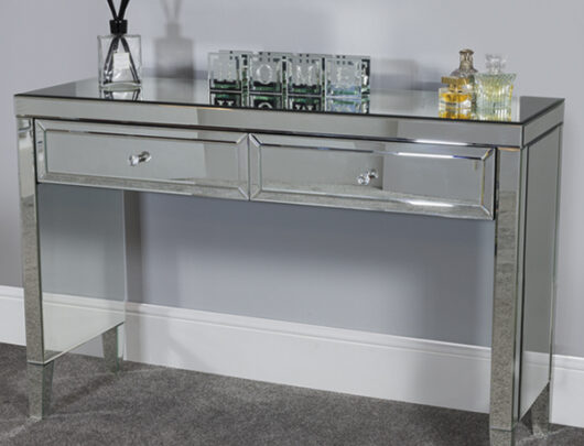 Ibiza Mirrored 2 Drawer Sideboard