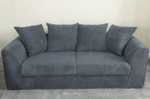 Ronan Slate Grey 3 Seater Sofa