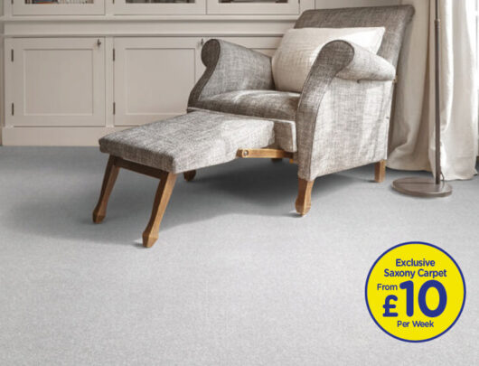 Platinum Saxony Carpet
