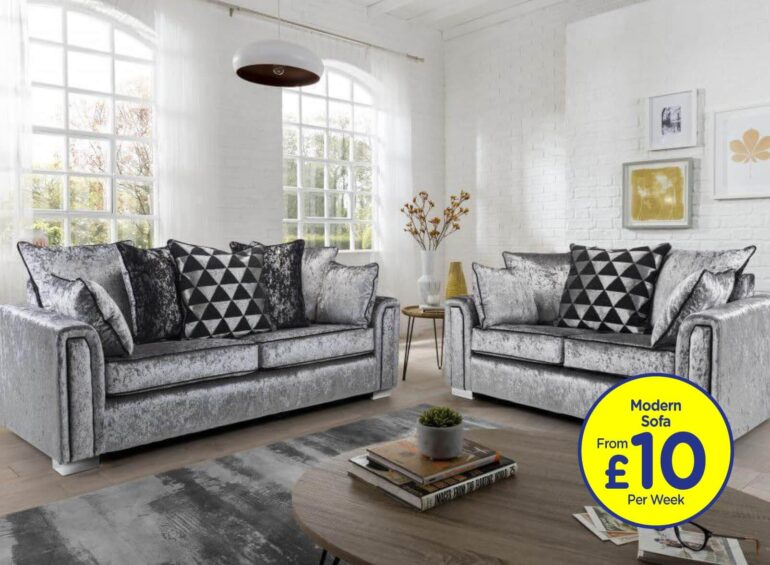 Lincoln 2 + 3 Seater Sofas