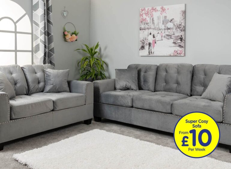 Seville Fabric Sofa Collection